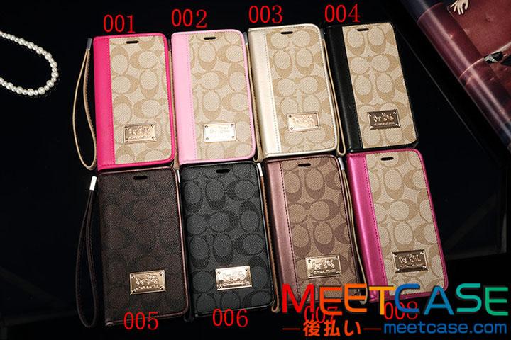 アイフォン7 7plusケース ブランド 手帳 iphoneX ケース コーチ iphone8ケース COACH iPhone 8plus携帯 ...