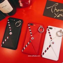 ブランド chanel iPhoneXケース リング付き アイフォン8プラスケース 耐衝撃 紙幣収納 オシャレ アイフ ...