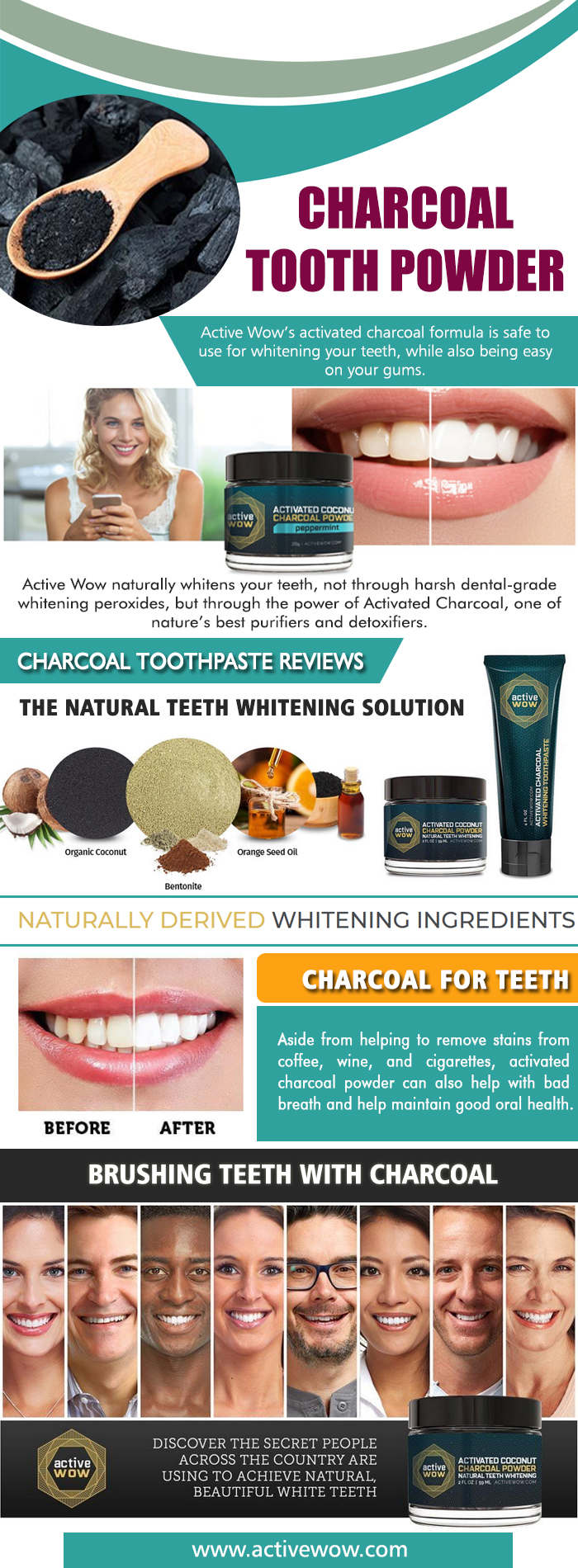 Charcoal teeth whitening review