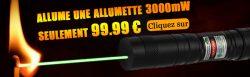Laser pointeur 3000mW