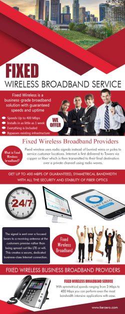 Fixed Wireless Broadband Service