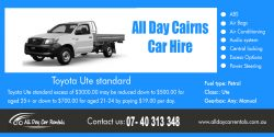 All Day Cairns Car Hire