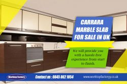 Carrara Marble Slab For Sale in UK