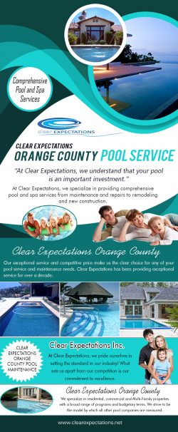 Clear Expectations Orange County Pool Service