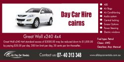 Day Car Hire Cairns