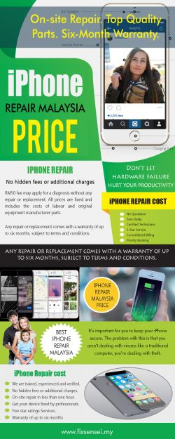 iPhone Repair Malaysia Price