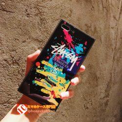 iphoneX/8/7/6s 携帯 ケース 有名人インスタ映えおしゃれステューシーSTUSSYアイフォンXファッションブ ...