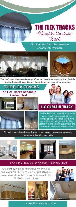 The Flex Tracks Flexible Curtain Track