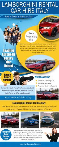 Porsche Rental Car Hire Italy