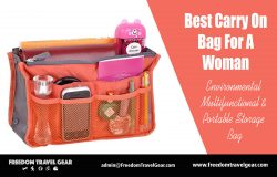 Best Carry On Bag For A Woman | https://www.freedomtravelgear.com/
