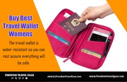 Buy Best Travel Wallet Womens | https://www.freedomtravelgear.com/