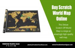 Buy Scratch World Map Online | https://www.freedomtravelgear.com/