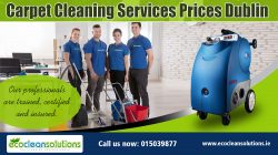 Carpet Cleaning Services Prices Dublin
