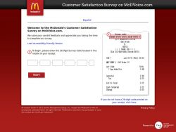 McdVoice.com – Free McDonalds Coupon Code – Restaurant Surveys |