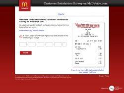 McdVoice.com – Free McDonalds Coupon Code – Restaurant Surveys |