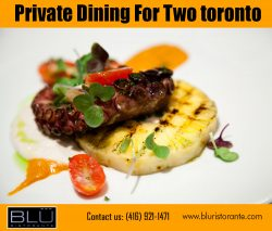 Private restaurant rooms Toronto