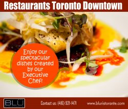 Downtown Toronto restaurants