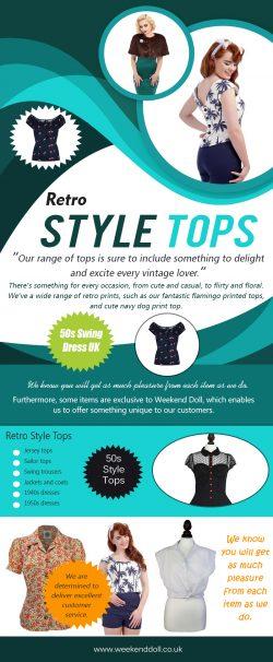 Retro Style Tops