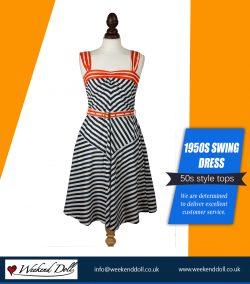 1950s Swing Dress
