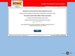 TalkToSonic.com – Get a Sonic Drive In Coupon Code