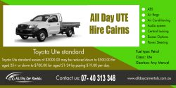 All day UTE hire cairns