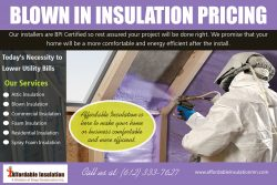 Blown In Insulation Pricing | affordableinsulationmn.com