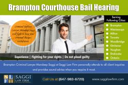 Brampton Courthouse Bail Hearing