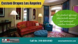 Custom drapes Santa Monica| http://fandrinteriors.com/