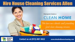 Hire House Cleaning Services Frisco
