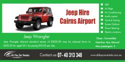 Jeep Hire Cairns Airport