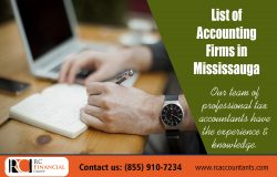 list of accounting firms in mississauga