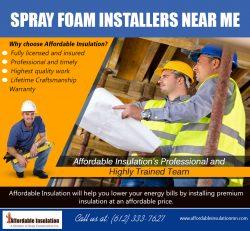Spray Foam Installers Near me | affordableinsulationmn.com