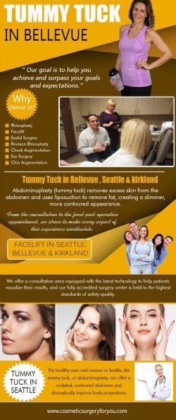 Tummy Tuck in Bellevue | cosmeticsurgeryforyou.com