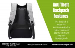 Anti Theft Backpack Features
