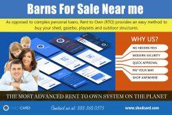 Barns For Sale Near me | shedcard.com