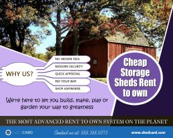 Cheap Storage Sheds Rent To Own | 888.368.0375 | shedcard.com