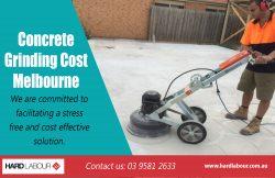 Concrete Grinding Cost Melbourne|https://hardlabour.com.au/
