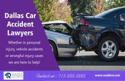 Dallas Car Accident Lawyers | ramjilaw.com