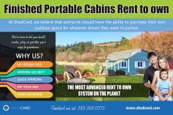Finished portable cabins rent to own texas | shedcard.com