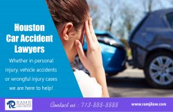 Houston Car Accident Lawyers | ramjilaw.com