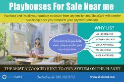 Playhouse For Sale Near me | shedcard.com