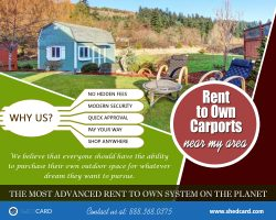 Rent to Own Carports | 888.368.0375 | shedcard.com