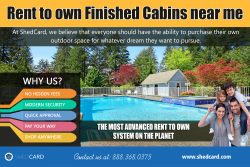 Rent to own finished cabins near me | shedcard.com