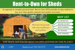 Rent-to-Own for Sheds | shedcard.com