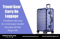 Travel Gear Carry On Luggage